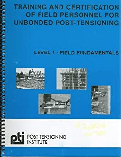 Crsi manual of standard practice 28th edition by crsi amazon training and certification of field personnel for unbonded post tensioning leverl 1 field fandeluxe Choice Image