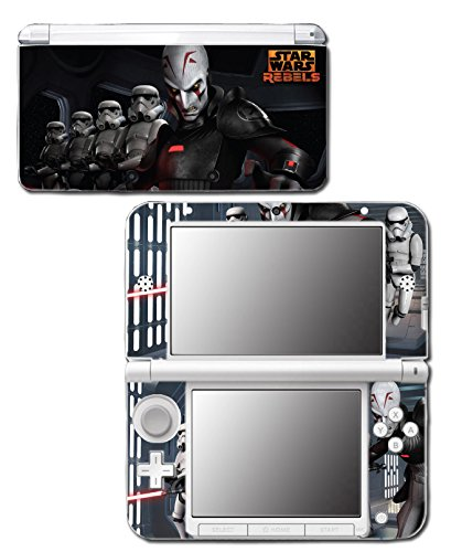 Star Wars Rebels Inquisitor Dark Side Jedi Video Game Vinyl Decal Skin Sticker Cover for Original Nintendo 3DS XL System