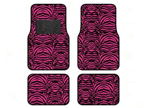 hot pink car mats - 1