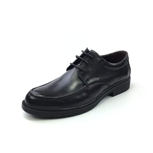 Zapatos con Cordones Negros para Hombres, Negocios Informales, Ropa Formal, Inglaterra, Plataforma