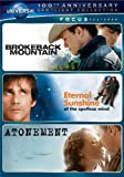 DVD : Focus Features Spotlight Collection (Brokeback Mountain / Eternal Sunshine of the Spotless Mind / Atonement)