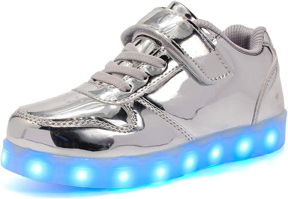 Wildfire Vine Enfant La Mode Chaussures LED Basket LED pour