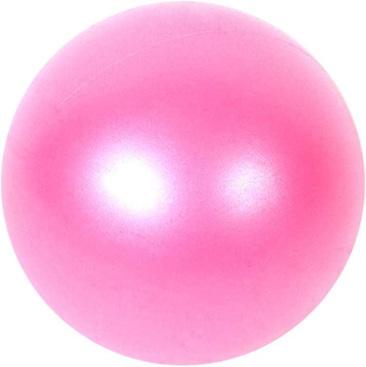 SENDILI Gymnastikb/älle Yoga Ball mit Pumpe Anti-Burst Fitness Balance Ball 25cm // 5 Farben Rot, Blau, Violett, Rosa, Grau