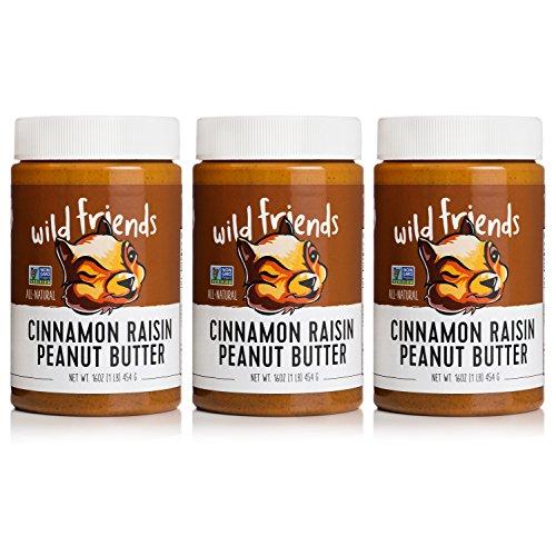 All-Natural Peanut Butter, Cinnamon - Santa Butter Peanut