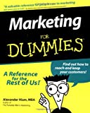 img - for Marketing For Dummies (For Dummies (Lifestyles Paperback)) book / textbook / text book
