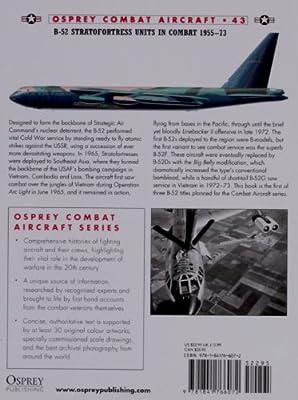B-52 Stratofortress Units in Combat 1955-73 (Combat Aircraft)