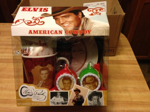 Elvis Lives Hot Cocoa Gift Set]()