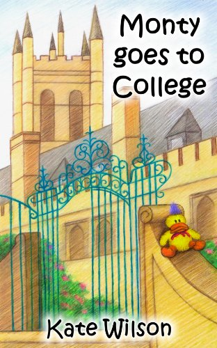 Monty goes to College (Children's Picture Book)