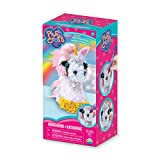 """THE ORB FACTORY LIMITED 10027964 Plush Craft 3D Unicorn, 5"""" x 4"""" x 10"""", Pink/White/Yellow/Grey"""