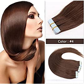 100% Brazilian Human Hair Straight 12 Inch 4 X4 Lace Closure Natural Color Non- Remy Hair Weaving 1PC/Lot