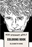 img - for Rod Stewart Adult Coloring Book: Godfather of Blues Rock and Bestselling Artist, Great Poet and Pop Legend Inspired Adult Coloring Book (Rod Stewart Books) book / textbook / text book