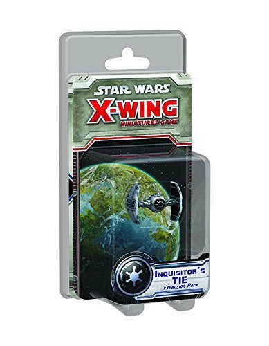 Rules Star Wars Miniatures - Star Wars: X-wing Inquisitor's Tie Miniature Expansion Pack