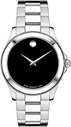 Movado Mens 605746 Junior Sport Stainless-Steel Watch