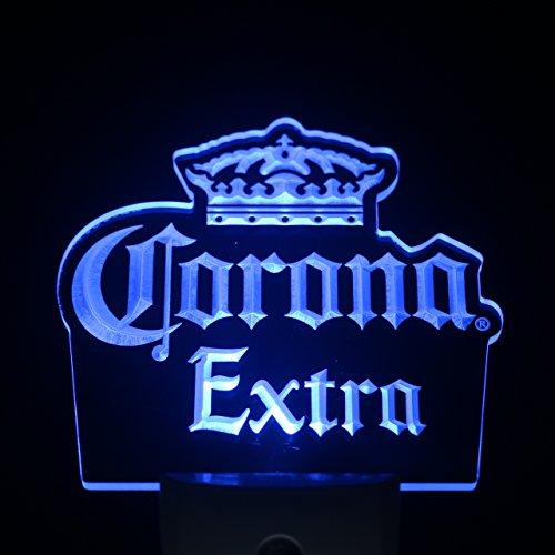 ws0212 Corona Extra Beer Day/ Night Sensor Led Night Light Sign (Stores In Corona Ca)