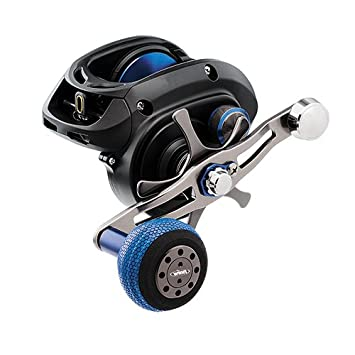 Daiwa LEXA-WN400HSL-P Lexa Type WN Casting Reel, 400, 7.1 1 Gear Ratio, 37.7 Retrieve Rate, 25 lb Max Drag, Left Hand