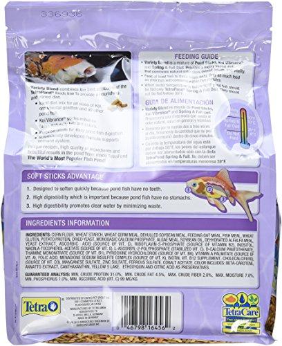 046798164562 - TetraPond 16456 Pond Variety Fish Food Sticks, 1.32-Pound carousel main 1