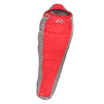 F Fityle 1 Unidad Saco de Dormir Colchón de Envoltura de Colchoneta de Camping Viajes de Coche - Rojo: Amazon.es: Deportes y aire libre