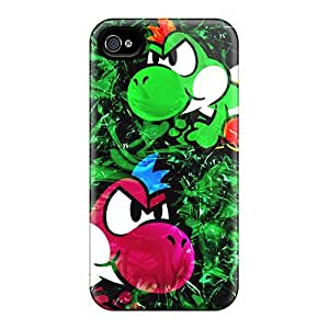 (orc22094jhWs)durable Protection Cases Covers For Iphone 4/4s(yoshi)