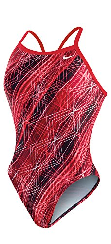 Nike Swim Female Epic Lights Lingerie Tank,University Red (614),26 by Nike (Image #1)