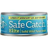 Safe Catch Elite Wild Tuna, 5 Ounce(Pack of 12)