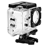 Seninhi Professional Waterproof Camera Protective Case Sports Action Camera for AKASO EK5000 EK7000 1080P / DBPOWER X1 / Lightdow LD4000 / Campark 4K / WiMiUS Q1Q2 / SJ4000 SJ7000