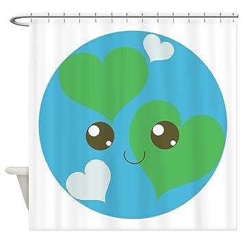 Amazon CafePress Precious Planet Shower Curtain Decorative