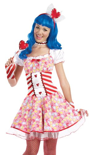 Juniors Dream Girl 8284 lollipop sensation color:COSTUME (California Gurls Katy Perry Costume)