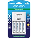 Sanyo Eneloop NiMH Battery Charger with 4AA NiMH Rechargable Batteries (Discontinued by Manufacturer)
