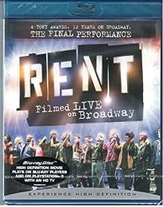 RENT - FILMED LIVE ON BROADWAY -BRDVD-