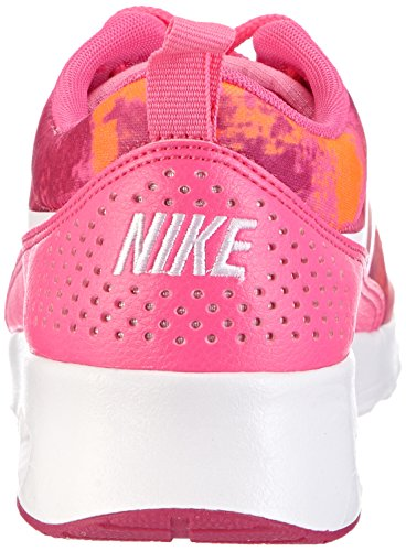 Print total Air Orange Pink pink Max fireberry Powder Thea Rosa White Nike da Donna Sneakers Odqtd