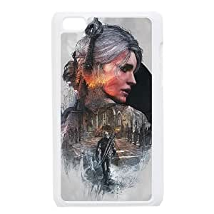 iPod Touch 4 Case White The Witcher 3 Wild Hunt review Ciri LSO7943431