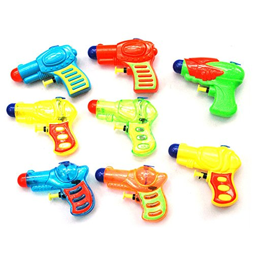 Mini Pistol Shooters Water Launcher Gun,Long Range Squirt Gun Pool Toys for Summer Party Favor,Outdoor Activity Beach Water Fun Toys for Kids, Summer Toy Water Gun 1Pcs(Random Delivery)
