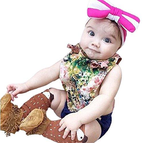 Fulltime® Les tout-petits Fox Kids Motif Chaussettes montantes - âge 1-3 ans
