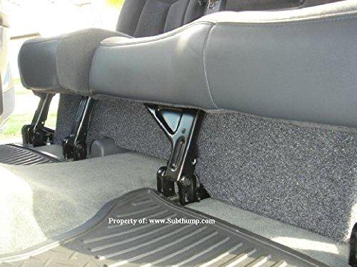 2001-2006 Chevy Silverado / GMC Sierra HD Crew Cab Dual 10 Downfire Subwoofer Box