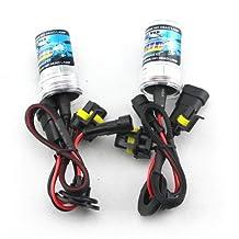 Zone Tech Set of 2 HID 9006 6000k Xenon Replacement Headlight Light Bulbs