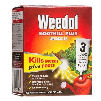 Weedol Rootkill Plus Tubes 3 x 25ml