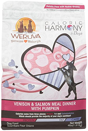 Weruva Caloric Harmony Venison and Salmon Meal Dinner with Pumpkin, 4lb For Sale