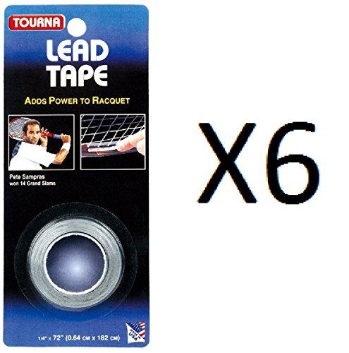 Tourna Lead Tape Tennis Racquet Racket Tape Golf Club 1/4