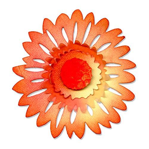 Medium Sizzlits Die - Sizzix Sizzlits Die 4.5x5.25-Daisy Flower