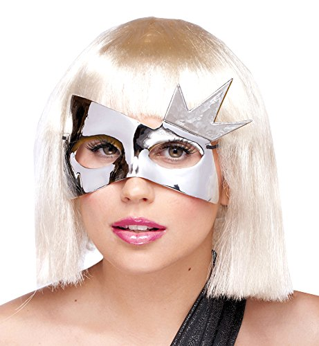Scary-Masks Sensory Starburst MaskSilver Halloween Costume - Most Adults (Starburst Costume)