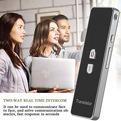 T8+ Smart Language Translator, 2.4G Bluetooth Real Time Voice Translation Device Support Chinese Arabic Portuguese French German Spanish Russian Japanese Romania 40 Languages for Travel Business by Zerone (Image #4)