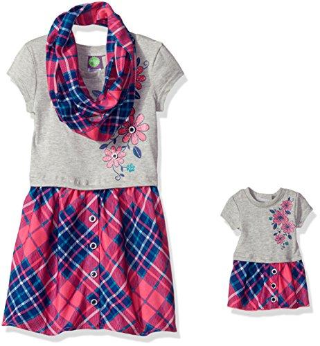 Dollie Me Girls Plaid Dress