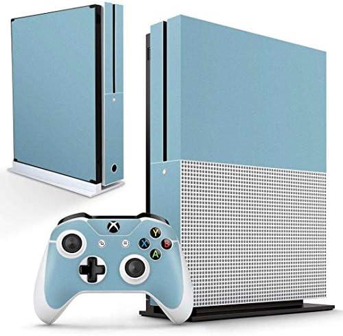 igsticker Xbox One S 専用 スキンシール 正面・天面・底面・コントローラー 全面セット エックスボックス シール 保護 フィルム ステッカー 009005