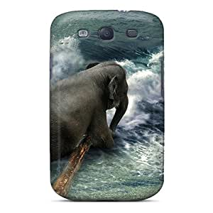 Top Quality Rugged Elephant Case Cover For Galaxy S3