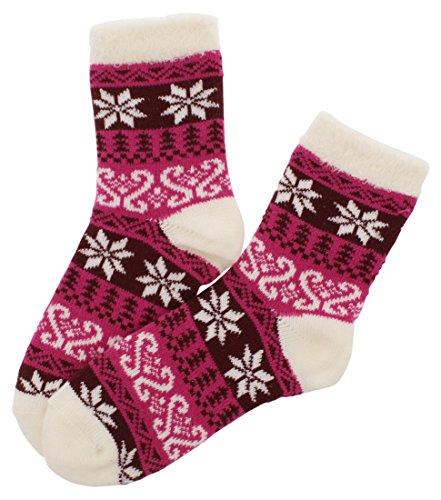 Sof Sole Pink Socks - 6