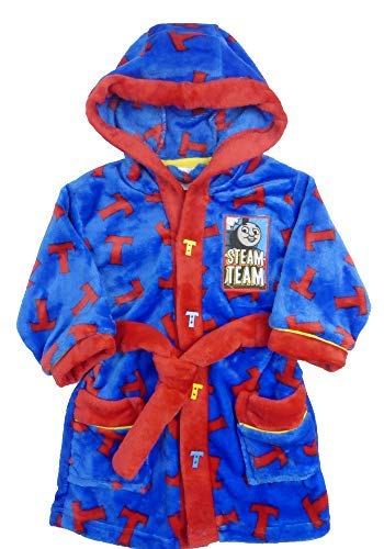 Thomas the Tank Engine Flannel Fleece Dressing Gown 12-18m 18-24m (12-18 -