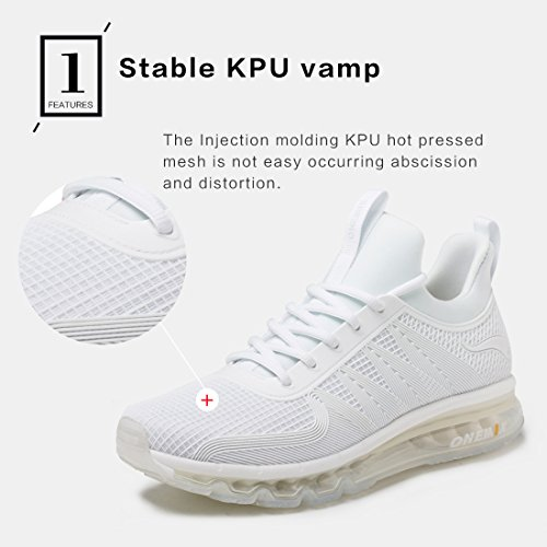 Specialized Running Light Shoes Air Men's Sneaker ONEMIX White Sports Breathable Shoes OwfqTnC