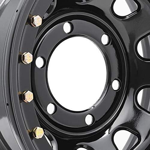 Pro Comp Steel Wheels Series 252 Wheel with Gloss Black Finish 15x10//6x5.5