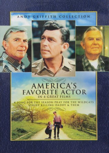 Andy Griffith Collection (A Song for the Season/Daddy & Them/Pray for the Wildcats/Street - Wilder Set Billy Box