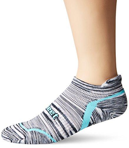 DEFEET Devo Tabby Urban Space Dye Socks, Neptune Blue, - Defeet Blue Socks